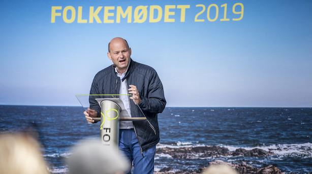 Pape til Venstre: Kom hjem til det borgerlige Danmark