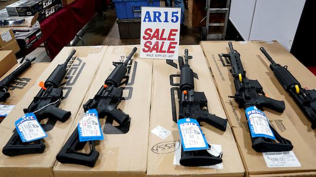 USA's Højesteret er splittet i sjælden sag om våbenlov