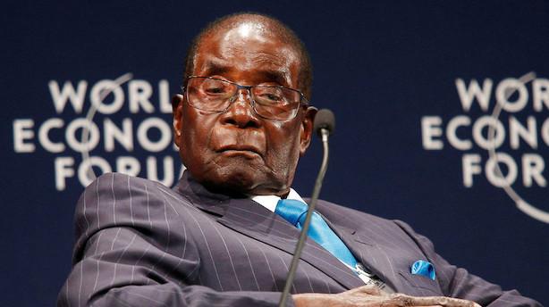 Militæret i Zimbabwe afviser rygter om kupforsøg efter uro