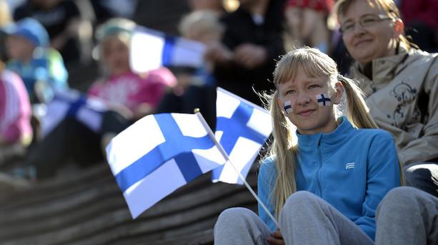 Glade finner tager lykketronen fra Danmark og Norge