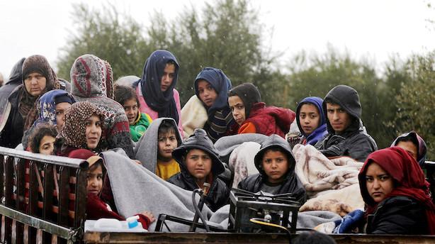 Tyrkiet i gang med stor offensiv i Afrin