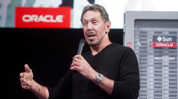 Oracles overgang til cloud computing skuffer på forventningsdel