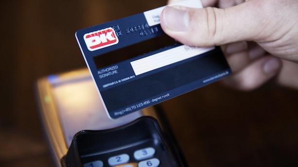 Forpustede Dankort-tal giver økonomiske panderynker
