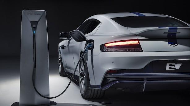 Aston Martin vil også være med på elbil-bølgen: Lancerer elbil med 800 hestekræfter