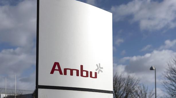 Markedet lukker: Topchef-bytte sendte Ambu ned med 20 pct
