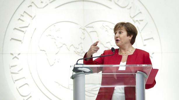 "Ny IMF-boss ser ""synkroniseret tilbagegang"" i verdensøkonomien"