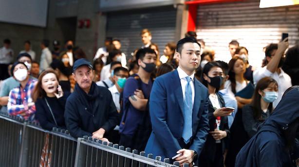 Aktier: Handelsusikkerhed, Hongkong-protester og ringe data tynger i Asien