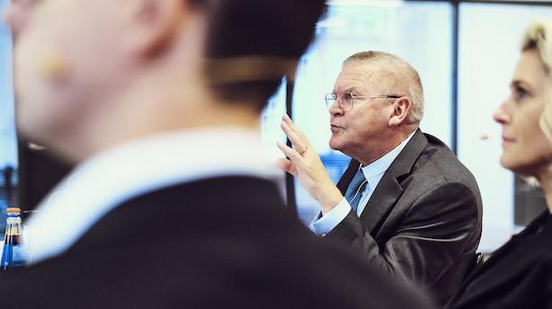 """Lars Rohde: """"Vi forsøger at skubbe med en snor. Nemlig at stimulere økonomien alene ved pengepolitik. Finanspolitikken skal overtage en kraftigere del"""""""