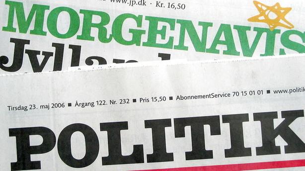 Papiravisens kvaler giver triste tal hos JP/Politiken