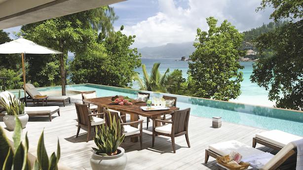 På Seychellerne som en sheik - til 60.000 kr i døgnet
