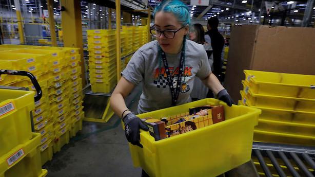 Amazon i nyt rekordsalg: Cyber Monday største shoppingdag nogensinde