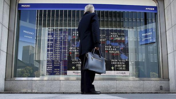Aktier: December indledes med volatil handel i Asien