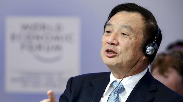 Huawei-stifter: Anholdelse af direktør var politisk motiveret