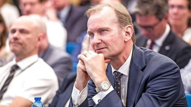 Niels Smedegaard har løftet DFDS-aktien markant