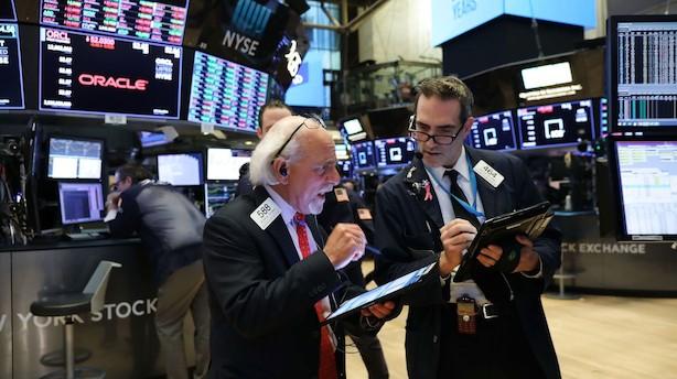 USA: Afventende investorer giver små indeksudsving på aktiemarkedet
