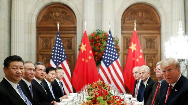 Aktier: Handelskrigen gør investorerne usikre i Asien