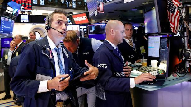 Aktiestatus i USA: Nye kursfald - nu 5 pct fra toppen