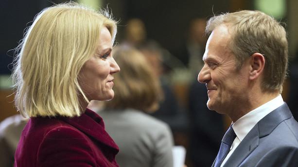 Tusk takker Thorning for at få jobbet som EU-præsident