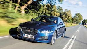 Jaguar g�r i bugen p� brugte tyske biler
