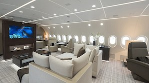 Bygger Boeings nye kæmpefly om til privat lejlighed