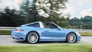 Firehjulstrukken Porsche bygges i blot 100 eksemplarer
