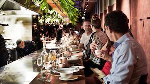 Toprestauranter p� den helt anden side af kloden