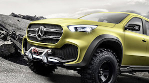 Monstertrucks fra Mercedes