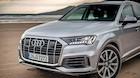 Audis kæmpe får hybridteknik og tre store skærme