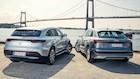 Tunge eldrevne drenge i duel: Mercedes EQC møder Audi e-tron