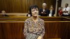 Britta Nielsen risikerer historisk hård straf tirsdag