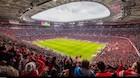 16 millioner farver og græs med sensorer: Her er den højteknologiske fodboldarena