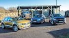 SUV-test: VW T-Roc møder solid Subaru og overraskende Opel