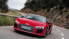 Topl�s Audi R8: Et br�l af en bil til 3,4 mio kr