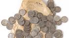 Slidte mønter solgt for en mindre formue