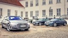 Topmøde: Audi A8 og BMW 7-serie møder Mercedes S-klasse