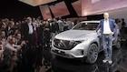 Topchef i storform præsenterer Mercedes nye elbil