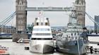Oligark parkerer bombesikker superyacht midt i London