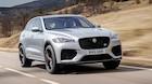 Jaguar lægger en voldsom V8'er i deres SUV - det er noget, der rykker