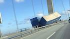 Uheld lukkede Storebæltsbroen i begge retninger