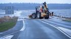 Vandet flyder i østjyske byer efter sjaskvåd weekend