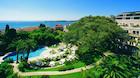 Portugisisk palads med perfekt pool