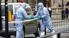 Mand terrorsigtes for at have knive ved britisk parlament