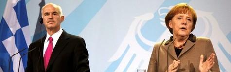 Avis: Merkel har truet med tysk exit fra euroen