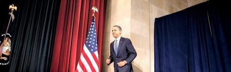 Obama sender USA på hestekur