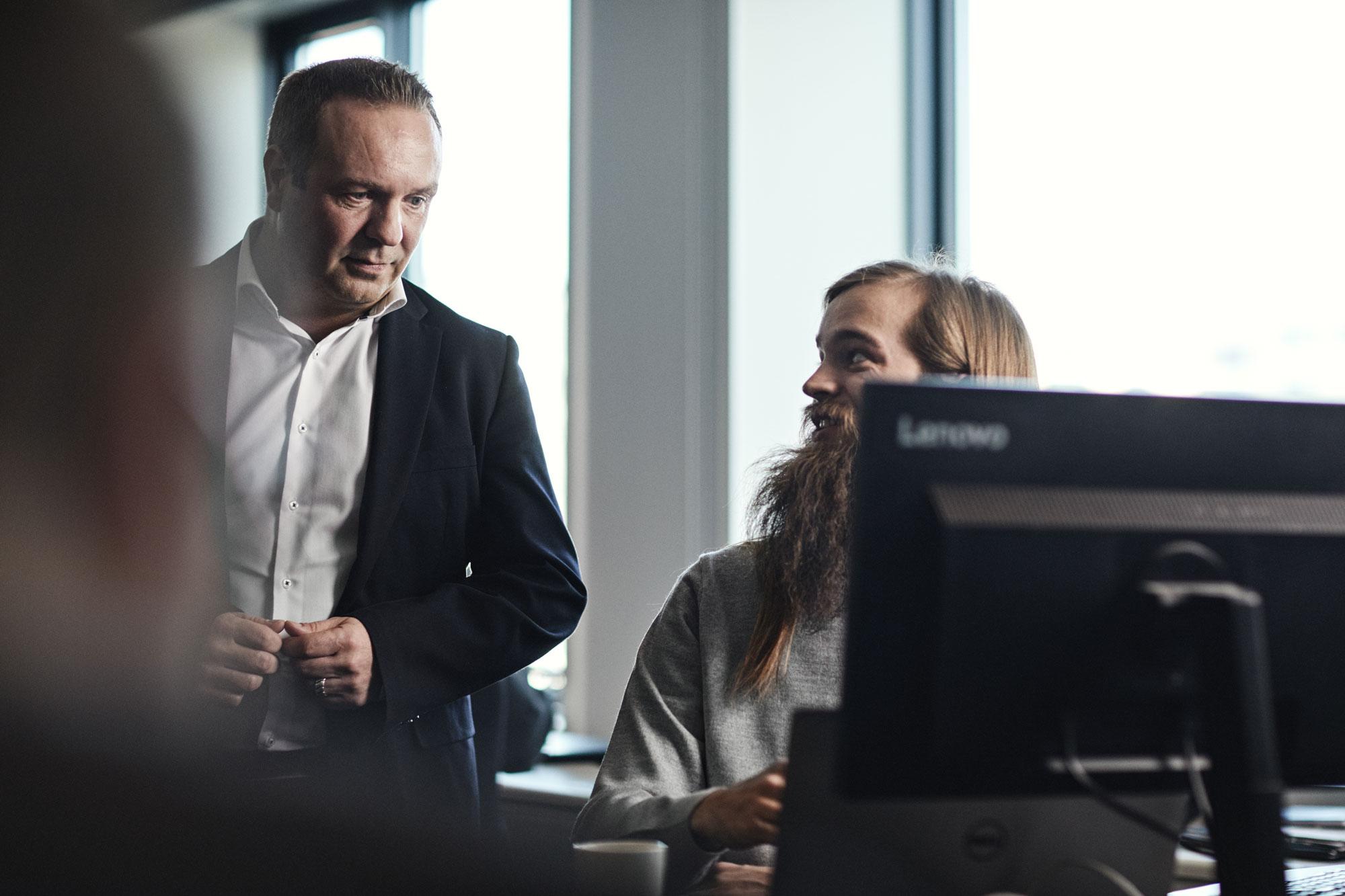 Martin og hans chef, Mikkel