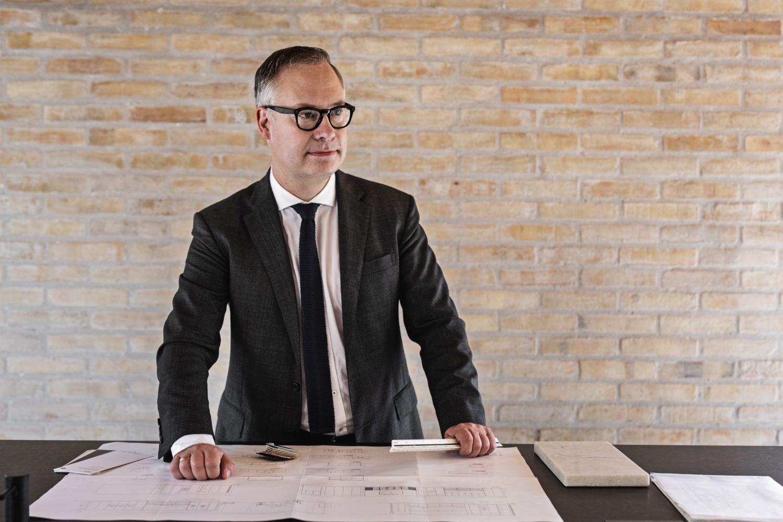Arkitekt Piet Rose