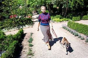 Cathrine Raben Davidsens weekend: Morgentur med hunden, træning med manden og fællesspisning med naboerne