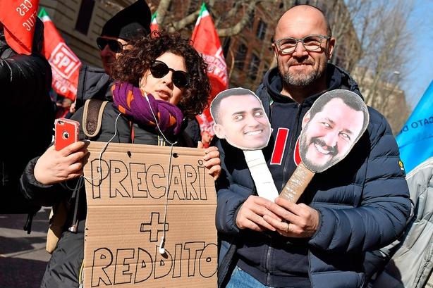 """Udsigt til italiensk """"investorflugt og krise"""""""