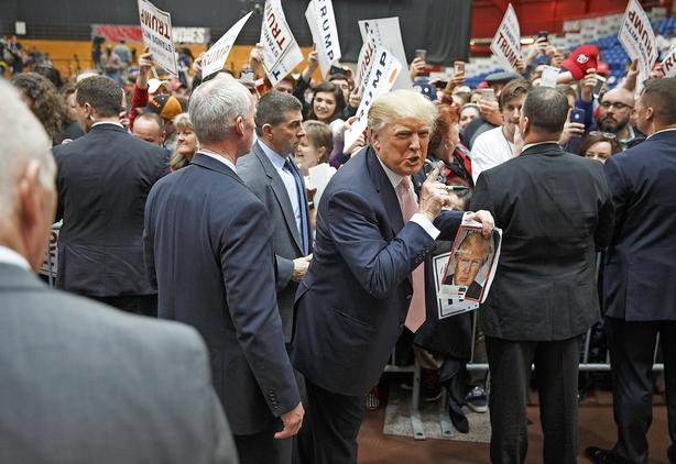 Små amerikanske virksomheder bag Trump