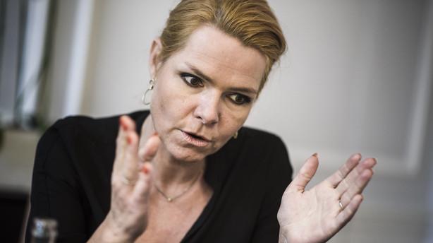 Støjberg varsler langvarig grænsekontrol